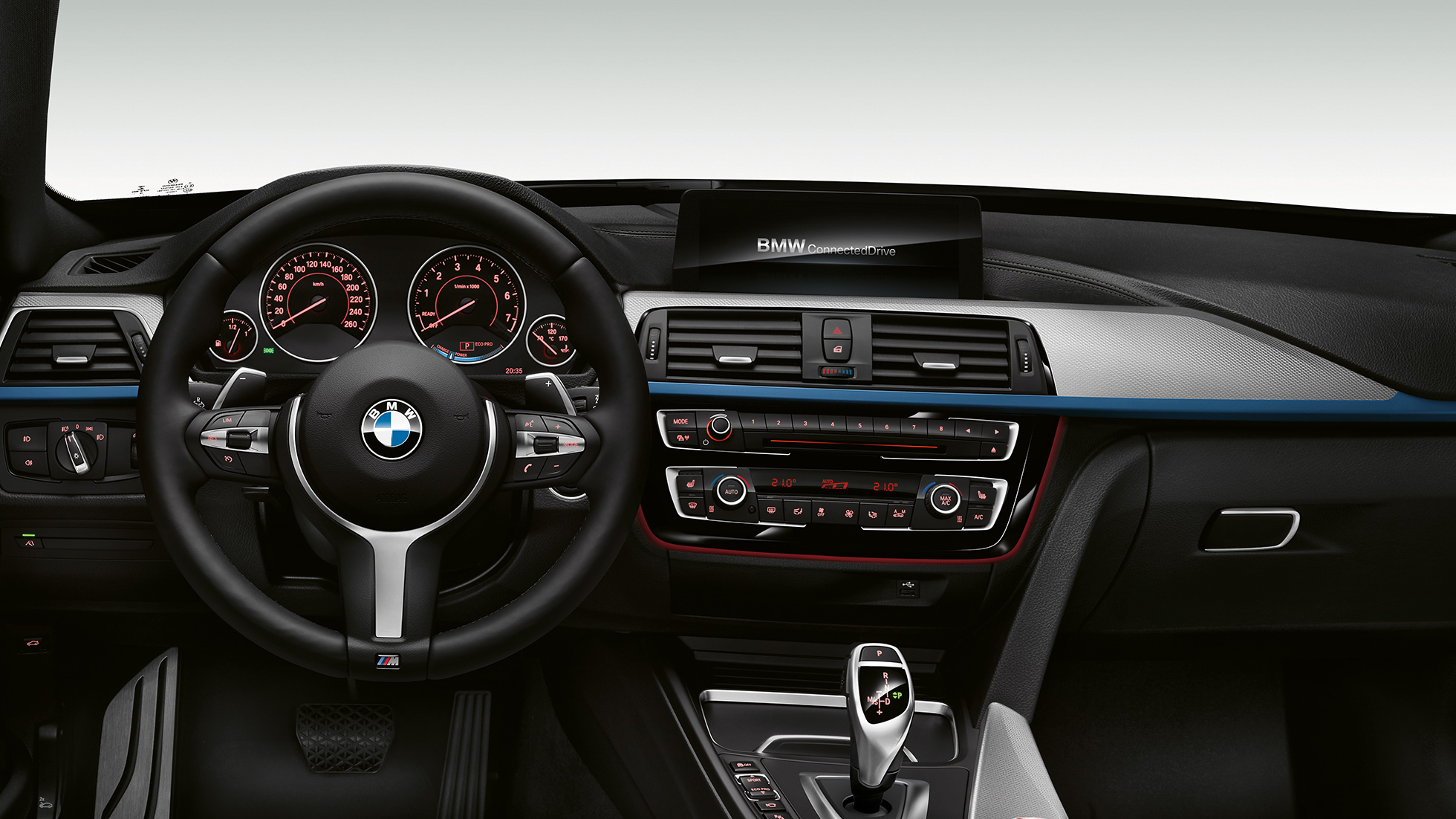 BMW 3 Series Gran Turismo, Model M Sport cockpit