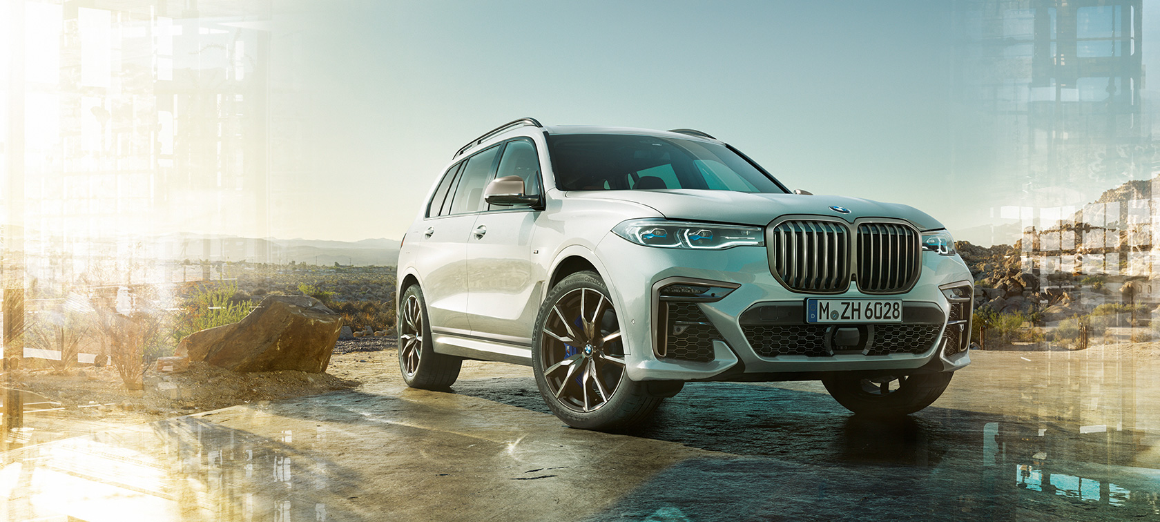 BMW X7 M50d og M50i, tekniske data