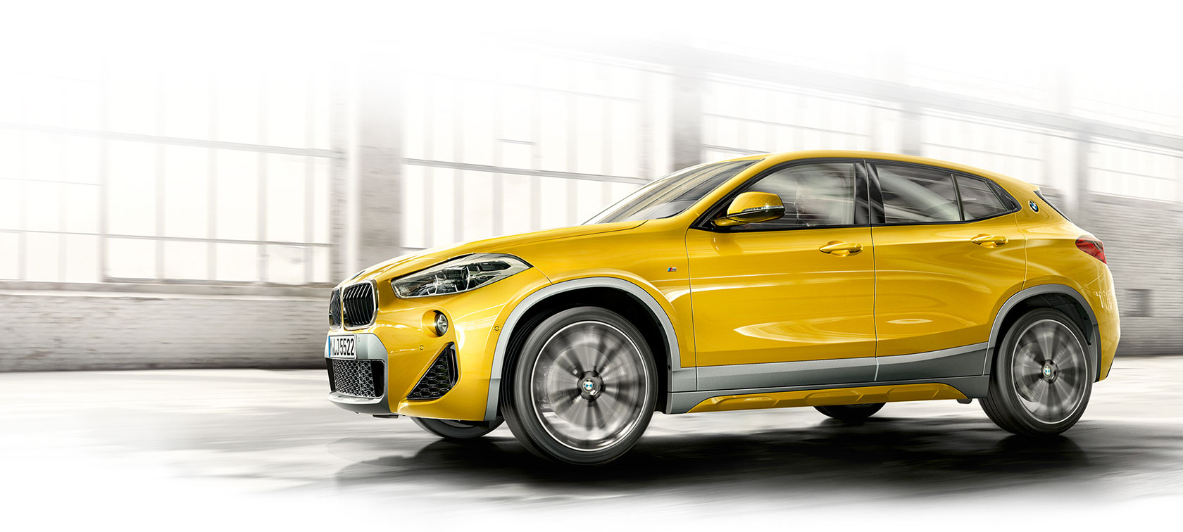 Tekniske data: BMW X2.